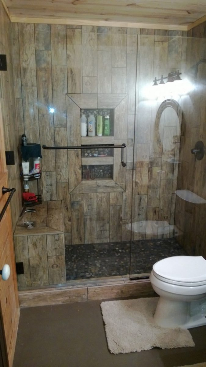 Revamp your bathroom with a pebble shower floor | DIY projects for ...