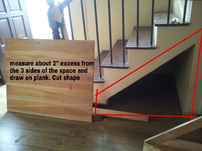 How to build an under stairs pull-out storage | DIY ...