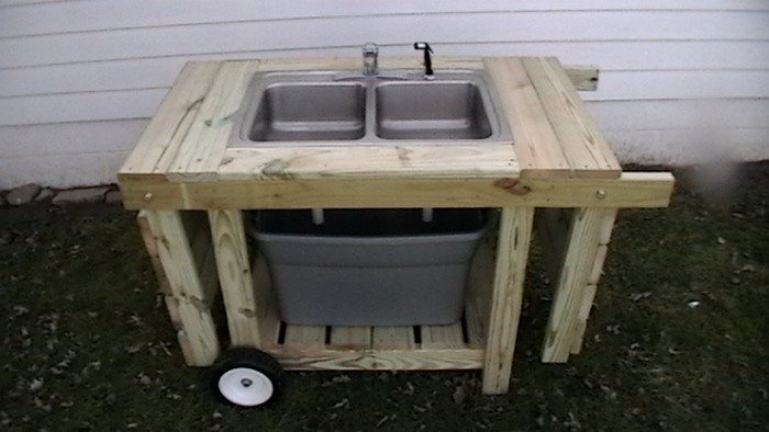 Mobile Garden Sink DIY projects for everyone