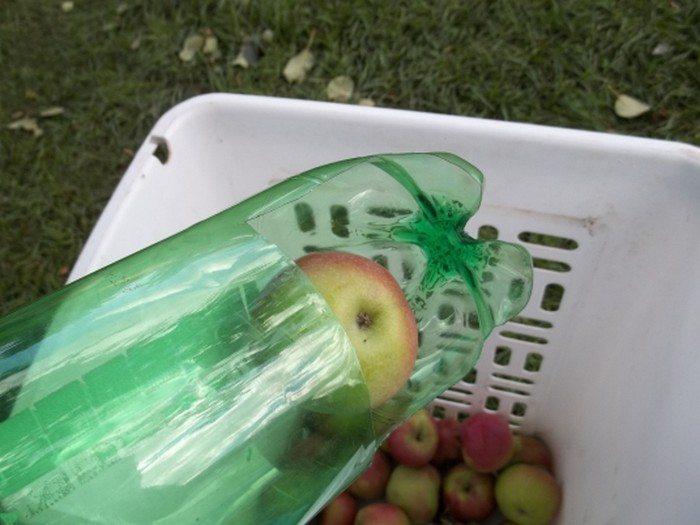 Soda Bottle Fruit Picker DIY