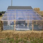 Straw Bale Greenhouse