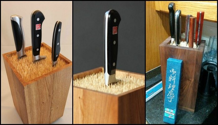 How to make an easy universal knife holder