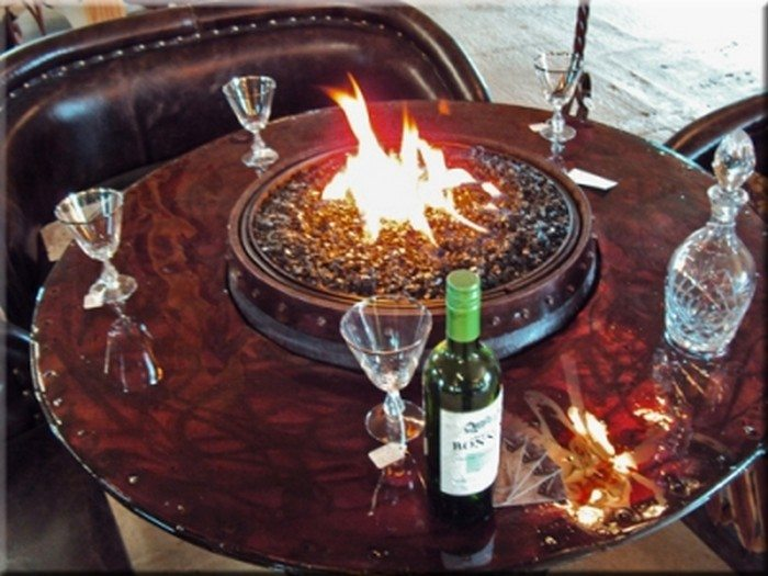 Turn A Wine Barrel Into A Fire Pit Table Diy Projects