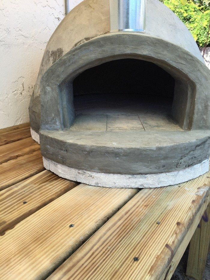 135 woodfired pizza oven