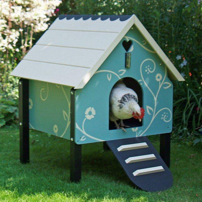 Small Dorking Chicken Coop