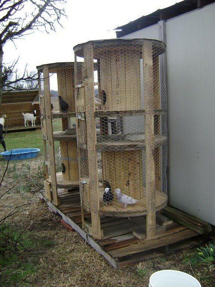 Empty Spools Chicken Coop