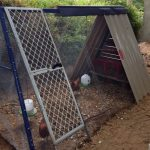 Old Swing Set Chicken Coop