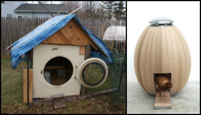 Alternative Chicken Coop Ideas