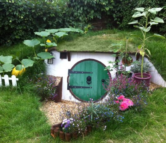 Backyard Hobbit House