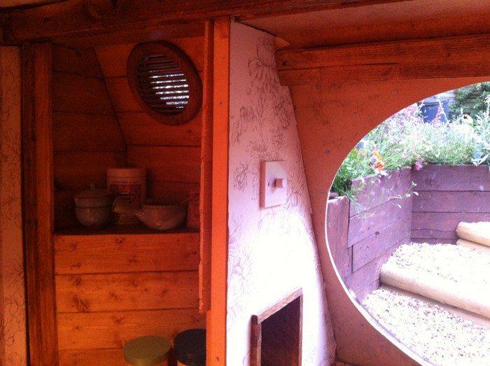 Backyard Hobbit House