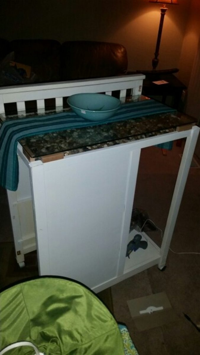 From a changing table to a kitchen island!   DIY projects for everyone!