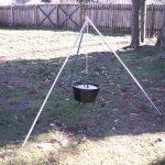 DIY Campfire Tripod