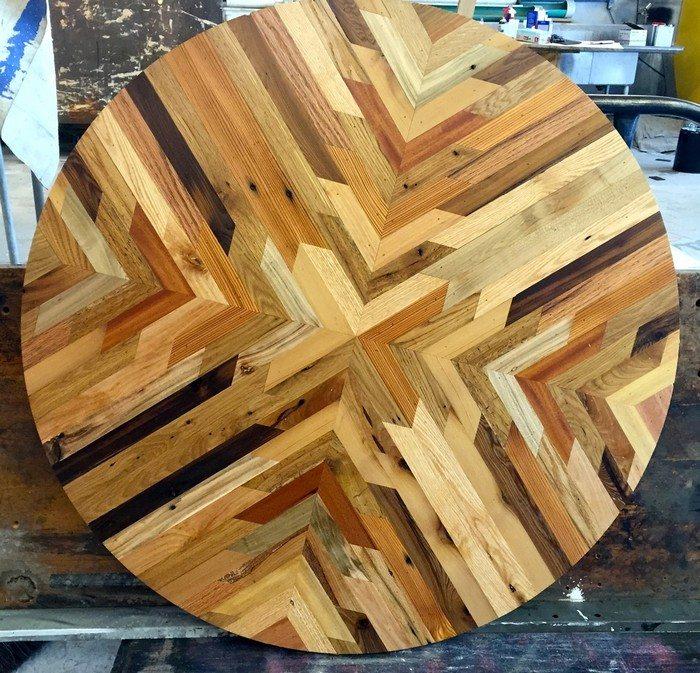 DIY Icosahedron Table