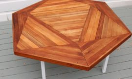 How to build an icosahedron table