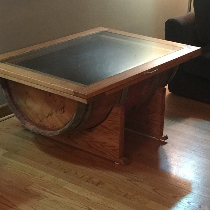 How to make a wine barrel coffee table DIY projects for everyone