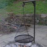 Fire Pit with Cooking Grill