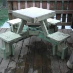 Floating Picnic Table
