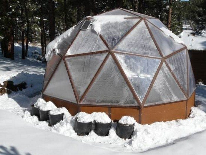 Build A Geodesic Greenhouse Diy Projects For Everyone