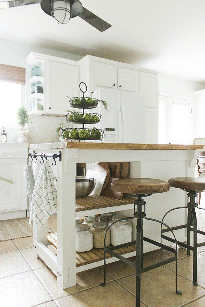Diy Kitchen Island Ideas: Build A Kitchen Island With Trash Storage