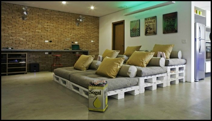 Movie Theater Sofa