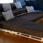Pallet Movie Theater Sofa