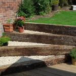 Retaining Wall Ideas - Railway Sleepers