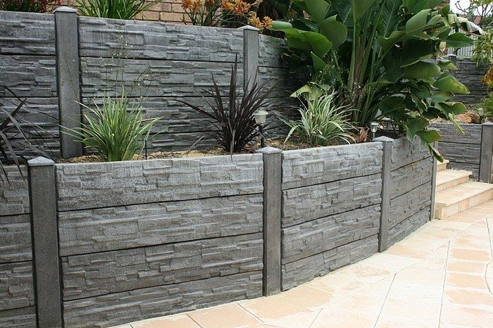 Retaining Wall Ideas   Concrete