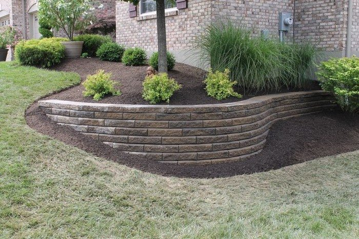 Garden Block Wall Ideas retaining wall ideas retaining wall building masonry walls patios Retaining Wall Ideas Blocks