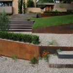 Retaining Wall Ideas - Corten Steel