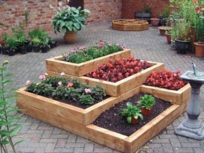 Tiered Garden Bed