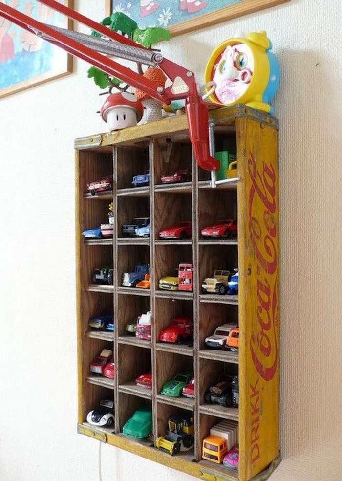 Toy Car Storage : Awesome toy car display ideas diy projects for everyone