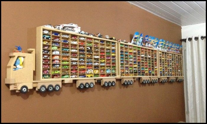 Awesome Toy Car Display Ideas! | DIY projects for everyone!