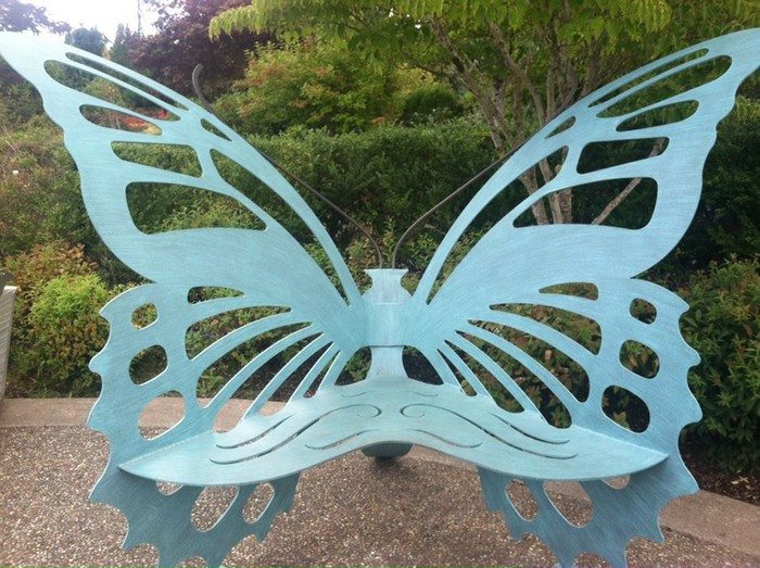 Can You Powder Coat Aluminum >> Whimsical Butterfly Chair | DIY projects for everyone!