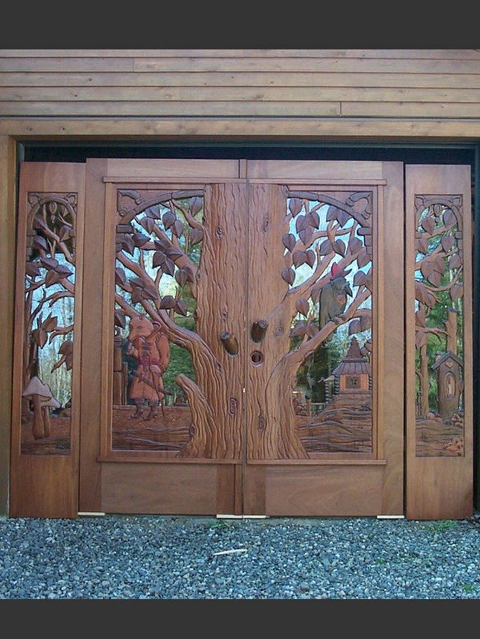 Amazing Custom Carved Wooden Doors Diy Projects For