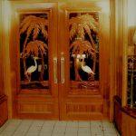 Carved Wooden Doors