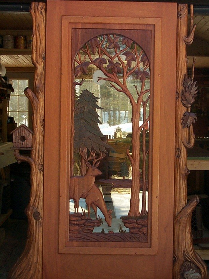 Doors Medium And Ideas: Amazing Custom Carved Wooden Doors