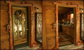 Amazing Custom Carved Wooden Doors