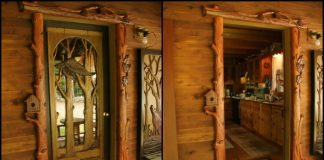 Custom Carved Wooden Doors