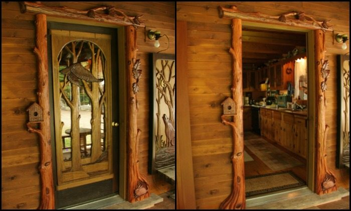 Amazing Custom Carved Wooden Doors