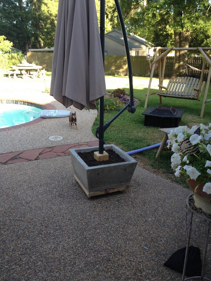 inspirating picture umbrellas stand diy probably of perfect tag ibbcclub outdoors patio favorite holder umbrella