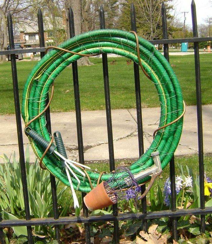 Repurposed Garden Hose Ideas