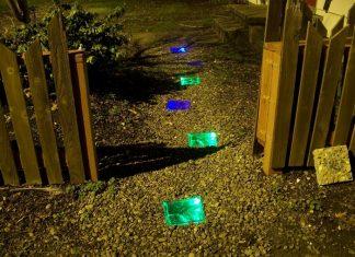 Solar Powered Walkway