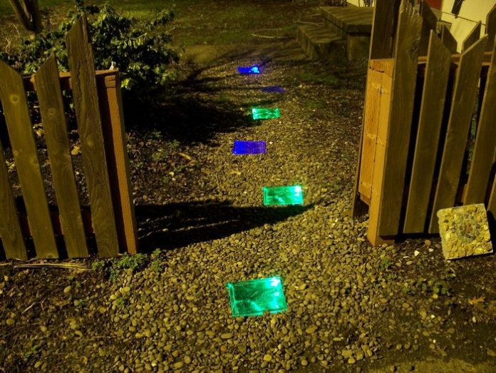 Solar Powered Walkway