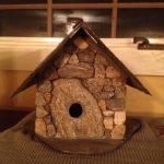 Stone Bird House