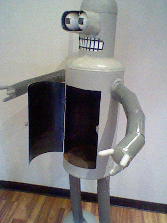 Water Heater Recycling Ideas - Sculpture