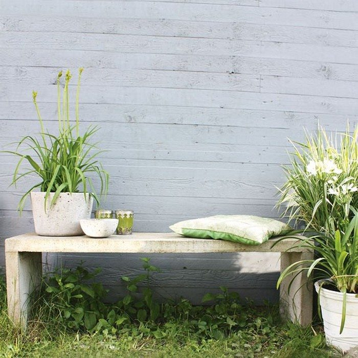 How To Build A Concrete Garden Bench Diy Projects For