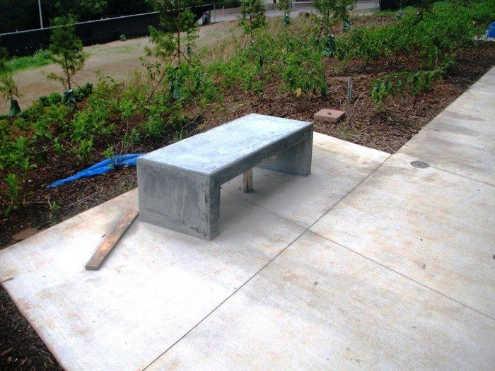 How to build a concrete garden bench DIY projects for everyone