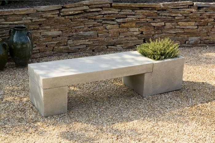 northern set outdoor concrete ireland table bench garden benches and furniture contemporary