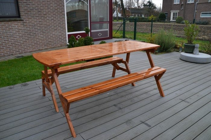 Build your own convertible picnic table bench!
