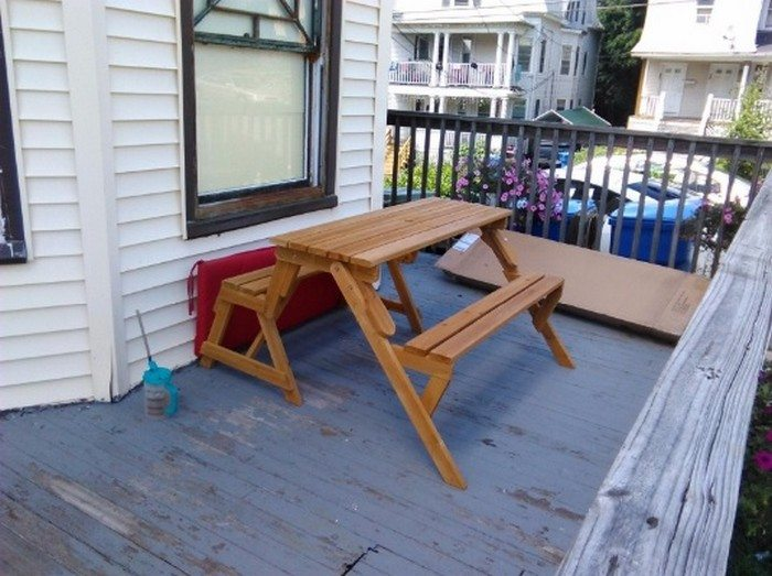 Build Your Own Convertible Picnic Table Bench Diy